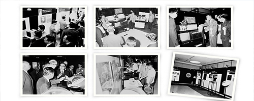 Old pictures of the history of Panasonic